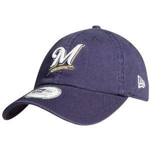 New Era Milwaukee Brewers Strapback Dad Hat